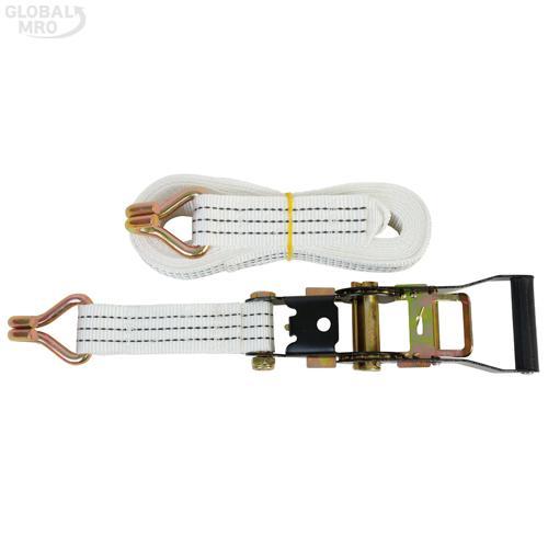 주영 파워벨트 4M(환봉)흰색 1SET