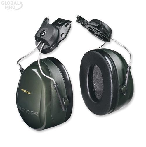 3M 청력보호구 귀덮개H7P3E안전모부착형 1EA