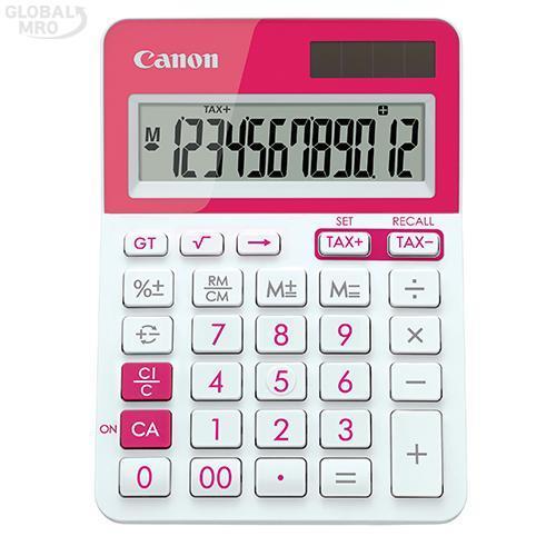 캐논 계산기 LS-123T-PK /옵션 LS-123T-PK (핑크) 1EA