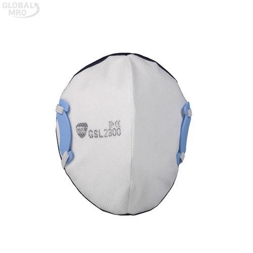 GSL마스크 안면부 여과식 보형물 방진마스크 2300-2급 /옵션 2300-2급 10EA