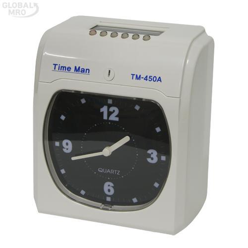 카피어랜드 출퇴근기록기 TM-450A / 1EA
