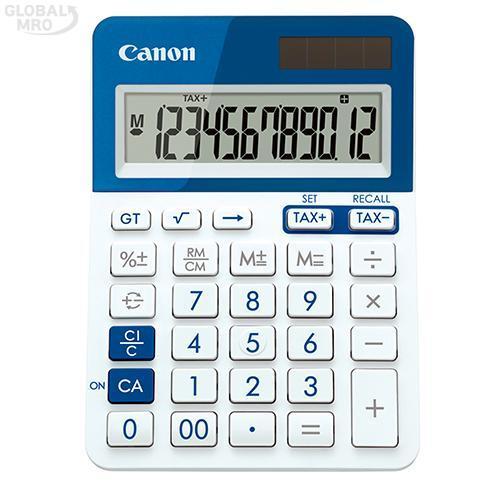 캐논 계산기 LS-123T-BL /옵션 LS-123T-BL (블루) 1EA