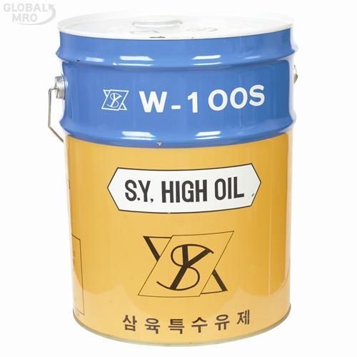 삼육 [반품불가] 수용성절삭유 절삭유(W-100S/2종1호/투명)20L 1EA