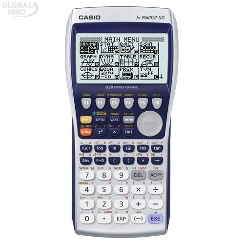 카시오 계산기(공학용) FX-9860G II SD / 1EA