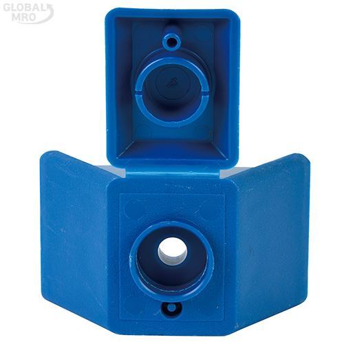 명화금속 스크루캡 지붕형(청색,방수형) 100EA /옵션 지붕형(청색,방수형) 100EA 1봉