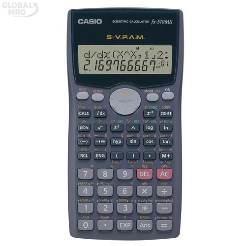 카시오 계산기(공학용) FX-570MS /옵션 FX-570MS 1EA
