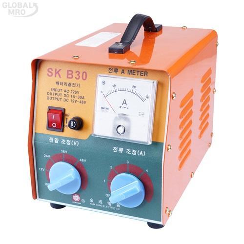 금성전기 배터리충전기 SKB30 / SKB30(중/대형) 1EA