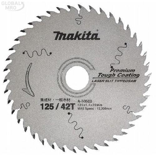 마끼다AC 팁쏘(목재용) A-50500 (125-1.4-20-42T) 1EA
