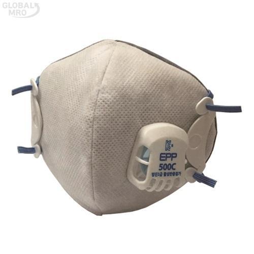 도부라이프텍 안면부 여과식 보형물 방진마스크 1급*EPP-500C /옵션 1급*EPP-500C 10EA
