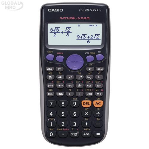 카시오 계산기(공학용) FX-350ES PLUS / 1EA