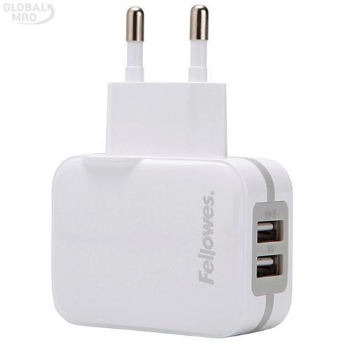 펠로우즈 USB충전기 99268 /옵션 가정용 2포트(그레이) 1EA