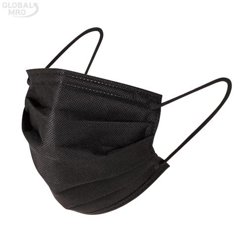 SMATO 마스크 건강마스크 블랙 (개별포장) / 30EA