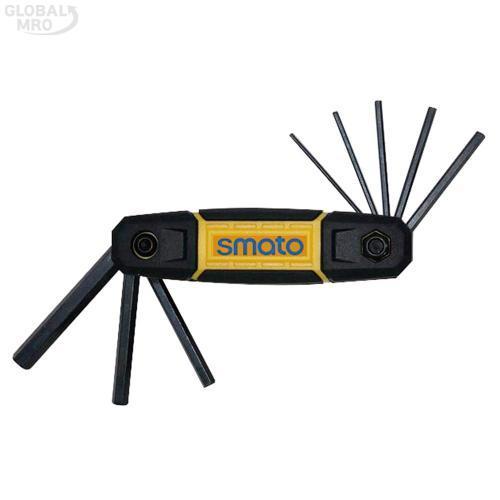 스마토 볼렌치 L렌치세트(접식) SFHS-9 /옵션 SFHS-9 (1.5~8mm) 8PCS 1SET