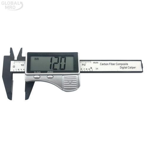 블루텍캘리퍼 디지털캘리퍼(플라스틱)BD-DC075P (75mm) 1EA