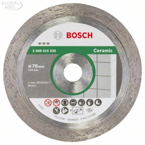보쉬 AC 절단석 3인치 타일용다이아몬드 (76x1.4x10) 020 1EA