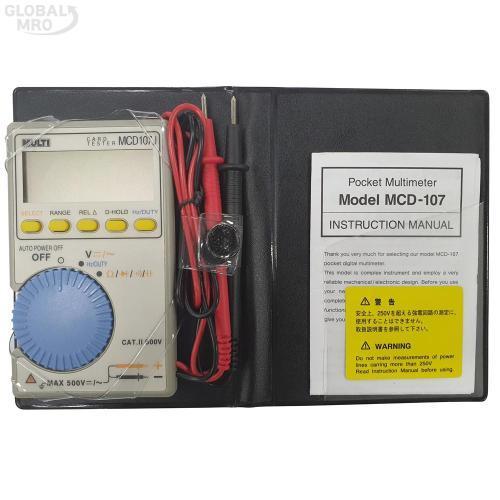멀티 디지털테스터(포켓) MCD-107 1EA