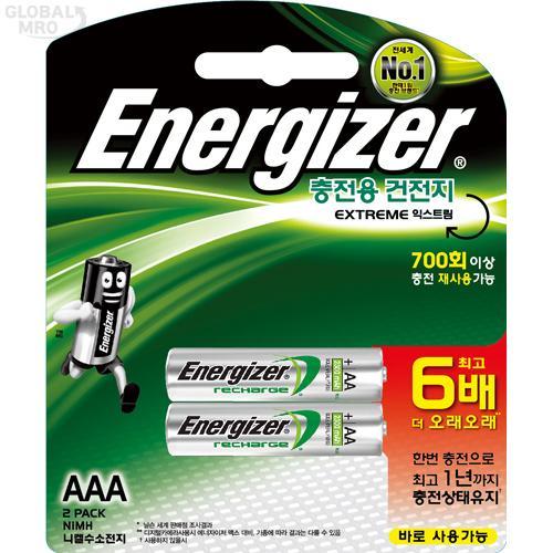 에너자이저 충전지 NH12 BP2(AAA) (1판=2EA) 1판