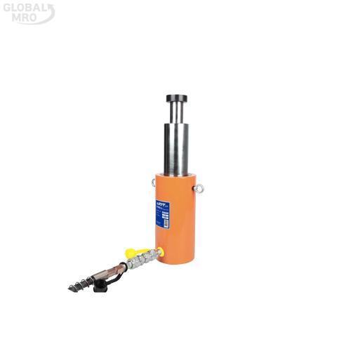 UDT유압 유압램(2단) 15T x 300MM(UR-1530D) 1EA