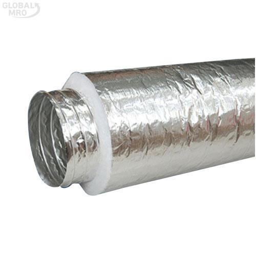 """세한후렉시블 알루미늄후렉시블닥트 SHF-302 / 3""""(75)*10M SHF-302(난연C/A) 1EA"""