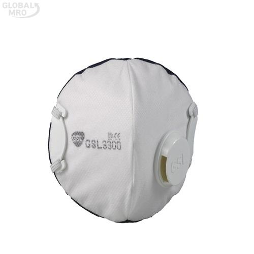 GSL마스크 안면부 여과식 보형물 방진마스크 3300-1급 /옵션 3300-1급 10EA