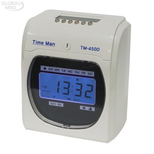 카피어랜드 출퇴근기록기 TM-450D /옵션 TM-450D 1EA