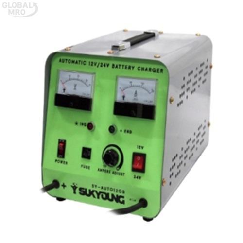 석영 배터리충전기 SY-AUTO 120S 1EA