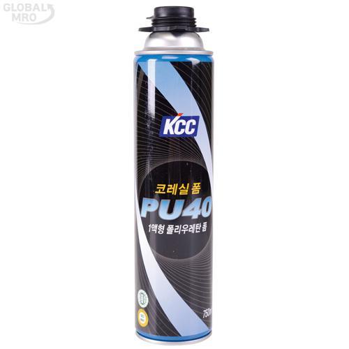 KCC 폴리우레탄폼 PU40G 750ml (B3) 15EA