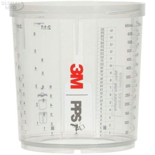 3M 에어 에어스프레이건컵 26122 (400ml) 하드컵 1EA
