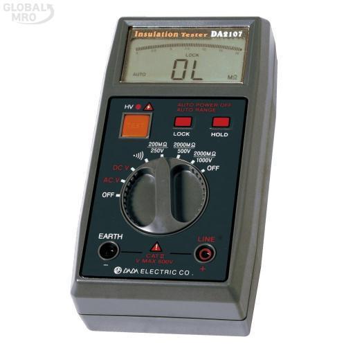 다다 절연저항계(디지털)DA-2107 1EA