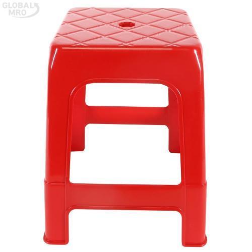 [반품불가] 대승산업 플라스틱 의자만능의자 (적색) 10EA