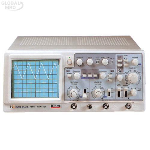 프로텍 오실로스코프(아날로그) Protek-6502A /옵션 Protek-6502A (20㎒) 1EA