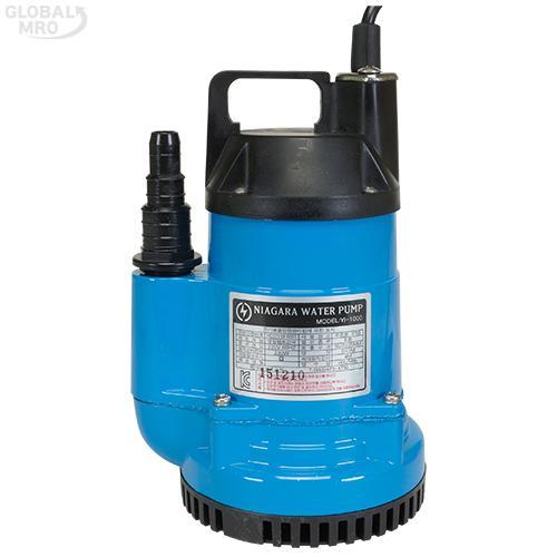 영일펌프 수중펌프(수동) YI-1000 /옵션 YI-1000(1/6HP) 1EA