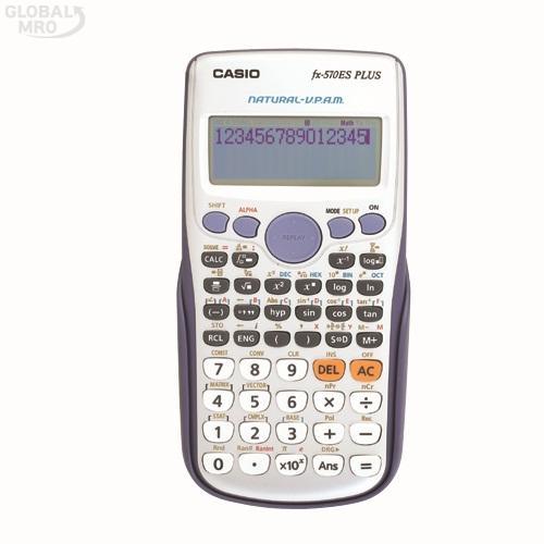 카시오 계산기(공학용) FX-570ES PLUS /옵션 FX-570ES PLUS 1EA