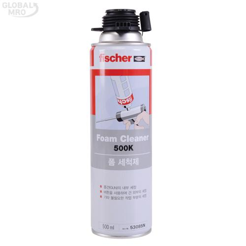 피셔 세척제 PUR500 /옵션 폼클리너 500K 20EA