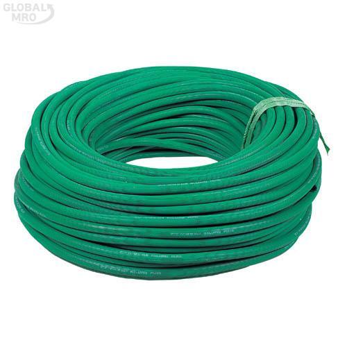 화승 고무산소호스 5/16(8)x2T/S(1B)x100M 녹색 1EA