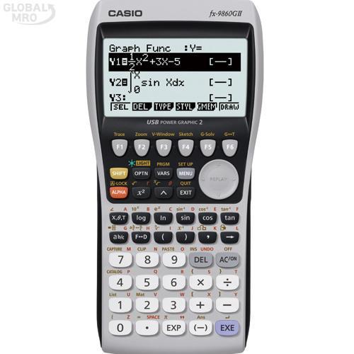 카시오 계산기(공학용) FX-9860G II / 1EA