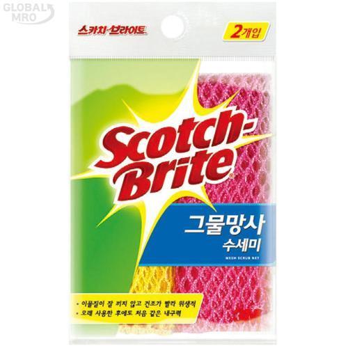 3M 생활용품 수세미WT300031208 1봉