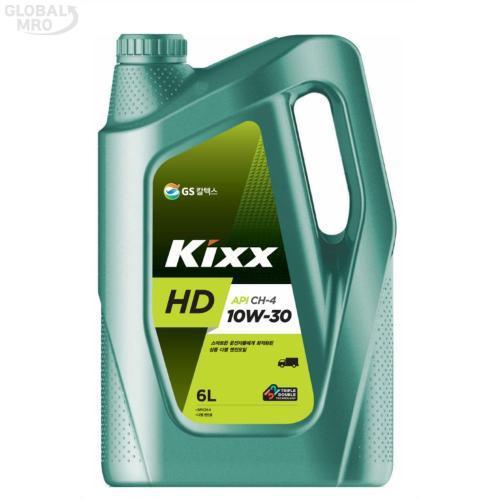GS칼텍스 엔진오일(디젤전용) Kixx HD CH-4 10W-30_3/6L 1EA
