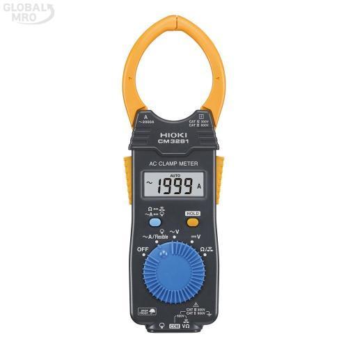 히오끼 클램프테스터(디지털) CM3281 1EA
