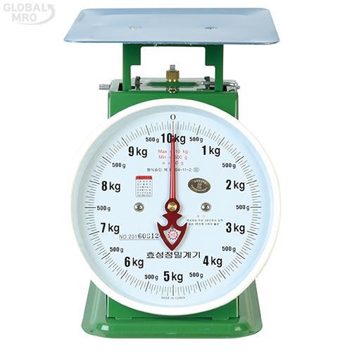 효성정밀계기 지시저울50kg (200g) 1EA