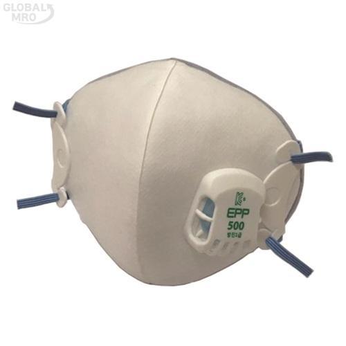도부라이프텍 안면부 여과식 보형물 방진마스크 1급*EPP-500 /옵션 1급*EPP-500 10EA