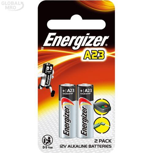 에너자이저 건전지(알카라인) A23 (2EA) /옵션 A23 (1판=2EA) 12판