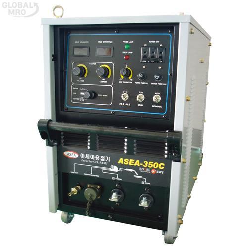 아세아 CO2인버터아크용접기 ASEA 350C(송급장치포함) 1EA