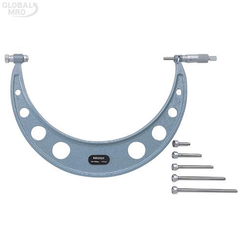 미스토요 앤빌교환외경마이크로미터 104-147A /옵션 104-147A (800-900*0.01) 1EA