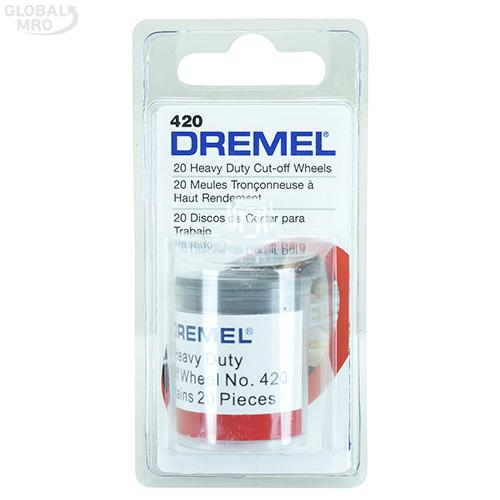 드레멜 휠 420(절단휠23.8mm,두께1mm) 20개입 1SET