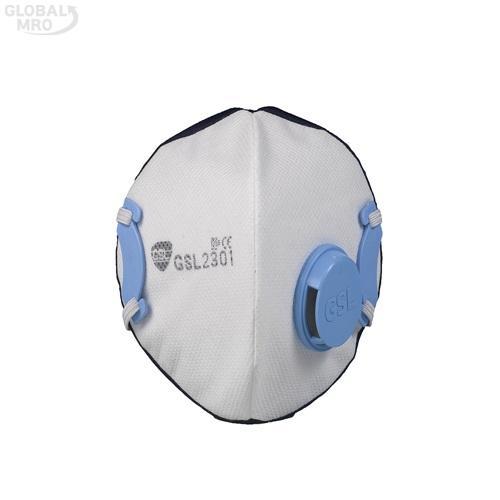 GSL마스크 안면부 여과식 보형물 방진마스크 2301-2급배기 /옵션 2301-2급배기 10EA