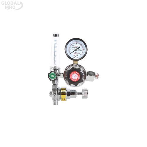 삼원 가스절약기형 조정기CO2(22MM[단]-110V) SWR-010J 1EA