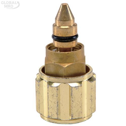 CRETOS 용단기 용단기밸브 가열기용-산소(청색) 5EA