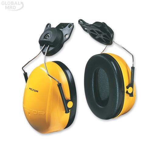 3M 청력보호구 귀덮개 H9P3E안전모부착형 1EA