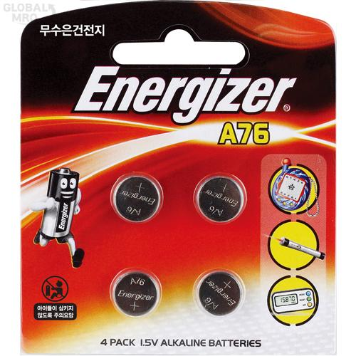 에너자이저 LR건전지 A76(LR-44) (1판=4EA) 12판